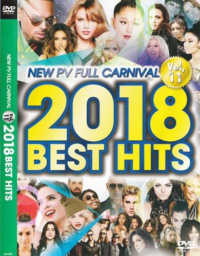 大人気シリーズ!!!今年の代表作40曲収録 - New PV Full Carnival Vol.11 -2018 Best Hit- - (DVD)
