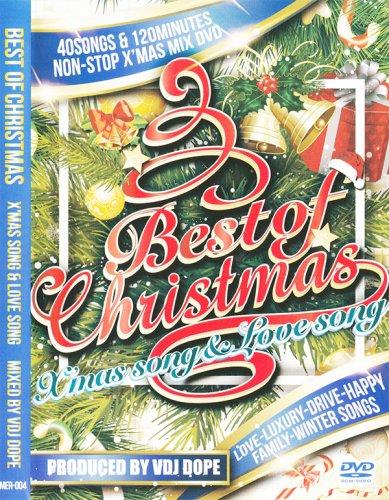 他店で売り切れ中!!!最新版!!!クリスマスベスト!!! - BEST OF CHRISTMAS-X'MAS SONG & LOVE SONG - (DVD)