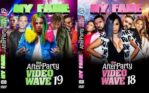 【まとめ買い割引】NYから直輸入!!!最先端すぎるリアルな本物のHIPHOP&R&B - the-AfterParty-VideoWave 18 & 19 - (DVD)