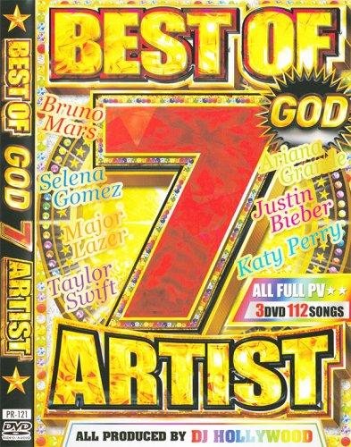 ☆☆他店では売り切れ続出☆☆夢の共演神7メンバー - BEST OF GOD 7 ARTIST - (3DVD)