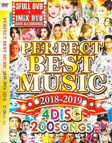 大人気シリーズ最新!!2019年も確実に流行るPVを完全収録!☆☆ -PERFECT BEST MUSIC 2018-2019 - (4DVD)