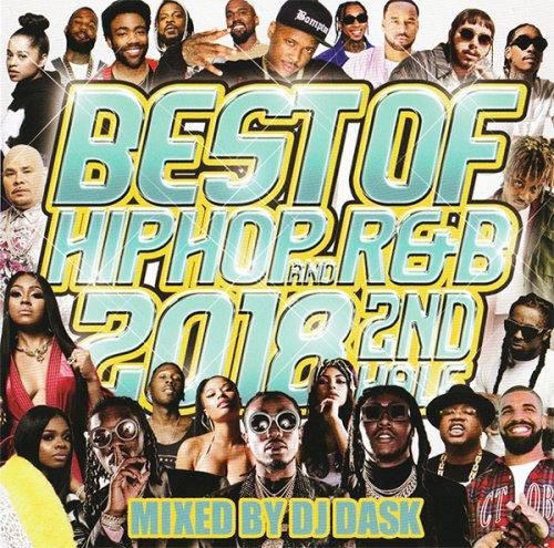 """問答無用の大ヒット""""ベスト""""シリーズ!- BEST OF HIP HOP AND R&B 2018 2ND HALF - (CD)"""
