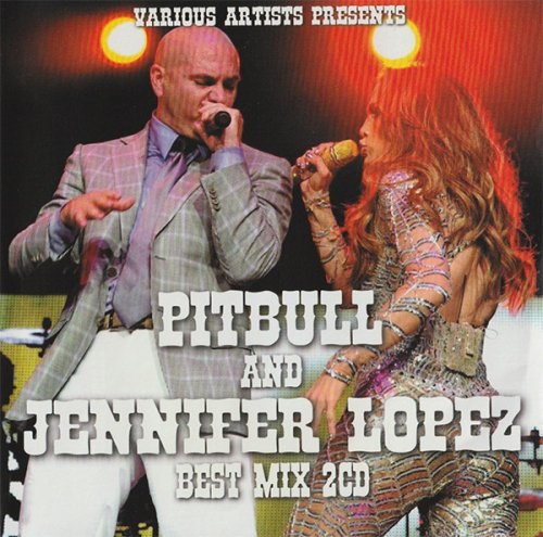 ★お得なコンボ★パーティー仕様「Pitbull」「Jennifer Lopez」夢の競演!!! - Pitbull & Jennifer Best Mix - (2CD)