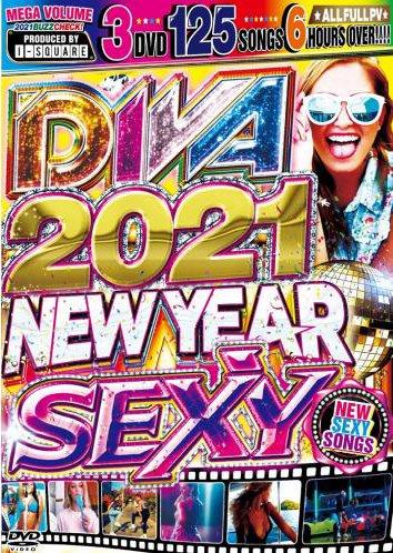 みんな大好き【エッチな洋楽】もうエロすぎで最高!!!! - DIVA 2021-NEW YEAR SEXY HITS - (3DVD)