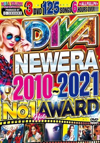 ※究極※【洋楽PV最強のベスト盤】11年分のバズソング!!! - DIVA NEW ERA 2010-2021 -NO.1 HOT AWARD - (3DVD)
