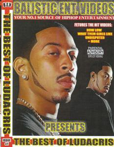 <img class='new_mark_img1' src='//img.shop-pro.jp/img/new/icons8.gif' style='border:none;display:inline;margin:0px;padding:0px;width:auto;' />Balistic Ent - BEST OF Ludacris DVD