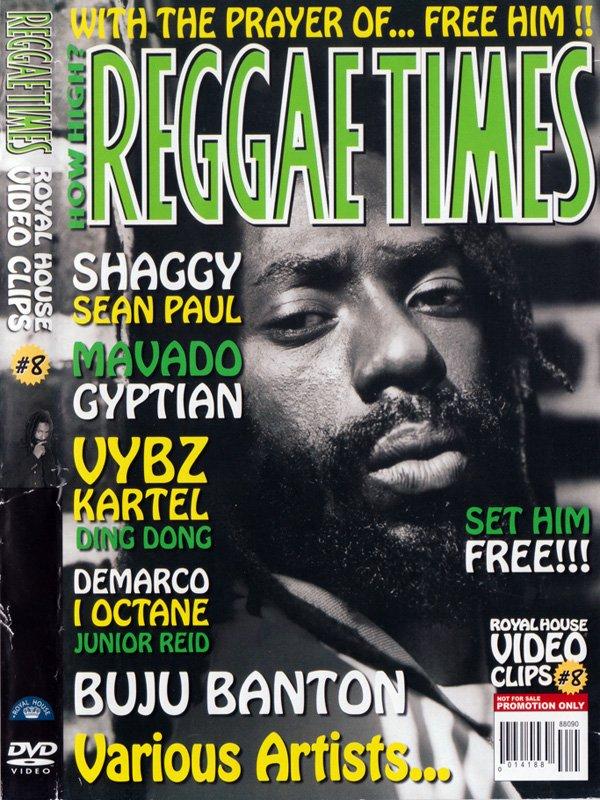 REGGAE TIMES #8 DVD