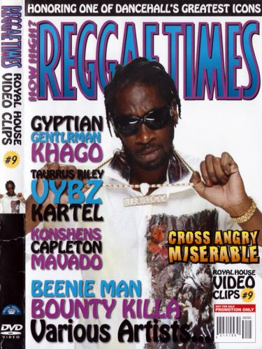 <img class='new_mark_img1' src='//img.shop-pro.jp/img/new/icons3.gif' style='border:none;display:inline;margin:0px;padding:0px;width:auto;' />REGGAE TIMES #9 DVD