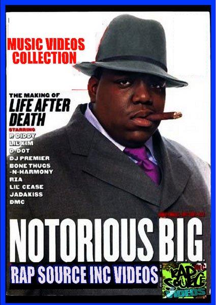 ビギーが4時間超 rap source notorious big dvd