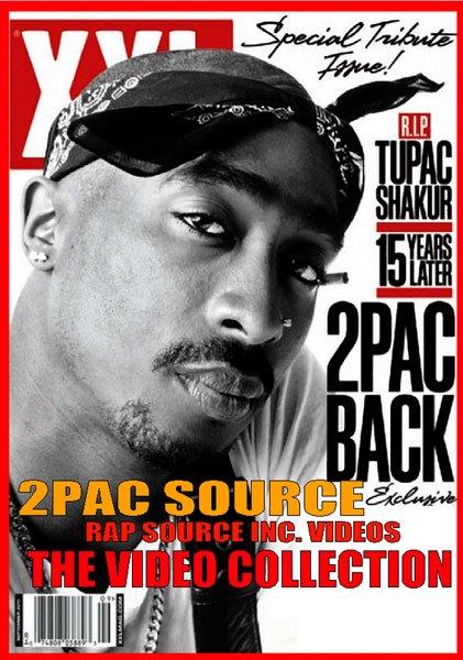 "2PACが4時間超!!""Rap Source-2Pac Back"" DVD"