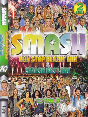 ☆☆☆最高傑作☆☆☆SMASH Non Stop Blazin' mix & SMASH BEST MIX Vol.10 2枚組!!
