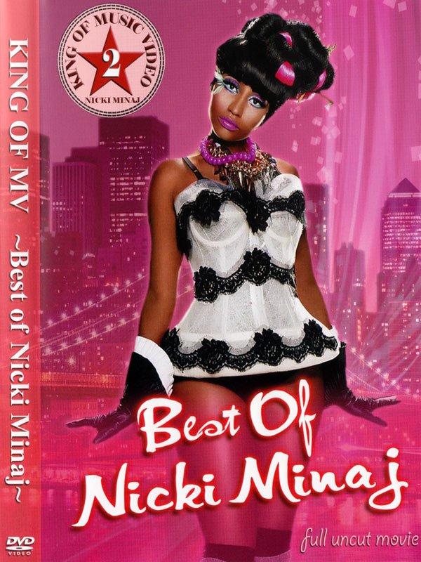 LIVE付き!!最高のニキちゃんベスト☆★BEST OF NICKI MINAJ DVD