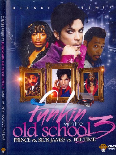 ☆レア過ぎ☆DJ Babe: Funkin With The Old School Vol.3:Prince vs. Rick James vs. The Time DVD
