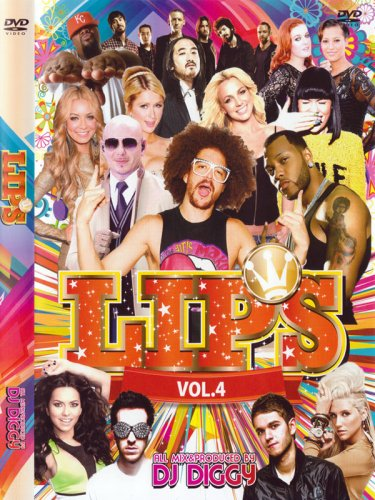 ↑↑弾ける50曲↑↑LIPS VOL.4 -PARTY PARTY PARTY- / DJ DIGGY MIX DVD