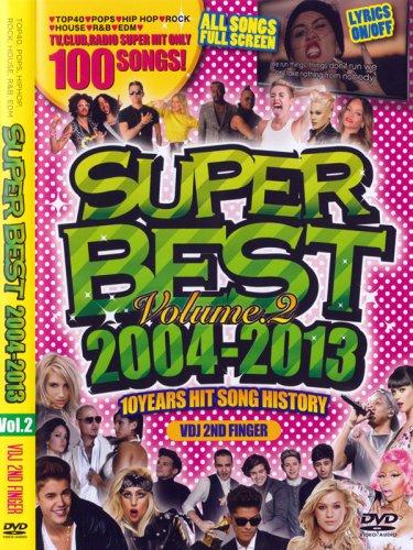 カエッてキター※10年分の厳選PV100曲収録※SUPER BEST 2004-2013 Vol.2 MIX DVD