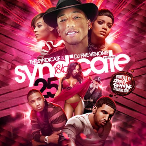 The Syndicate & DJ Five Venoms - Syndicate R&B 25 MIXCD s 20140421
