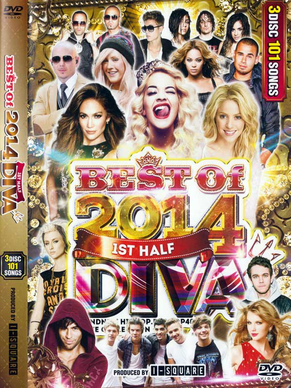 ����ȥĤο͵����DIVA BEST OF 2014 1ST HALF / I-SQUARE(3 DVD)