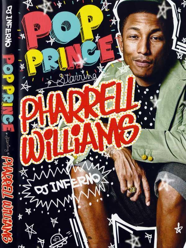 Happy収録★★DJ INFERNO POP PRINCE STARRING PHARRELL WILLIAMS MIX DVD