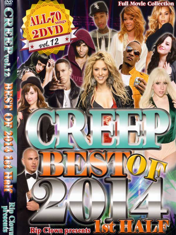 ������!!RIP CLOWN / CREEP VOL.12-BEST OF 2014 1ST HALF- ��2 DVD��