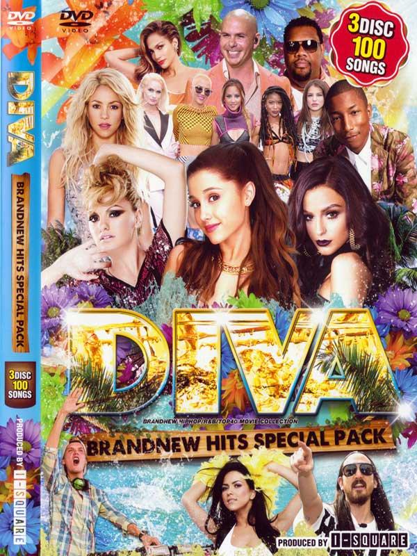 DIVA -BRANDNEW HITS SPECIAL PACK- / I-SQUARE(3 DVD)