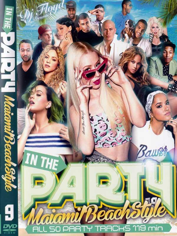 ����ַ�DVD������!!!DJ FLOYD / IN THE PARTY VOL.9-MIAMI BEACH STYLE-MIX DVD