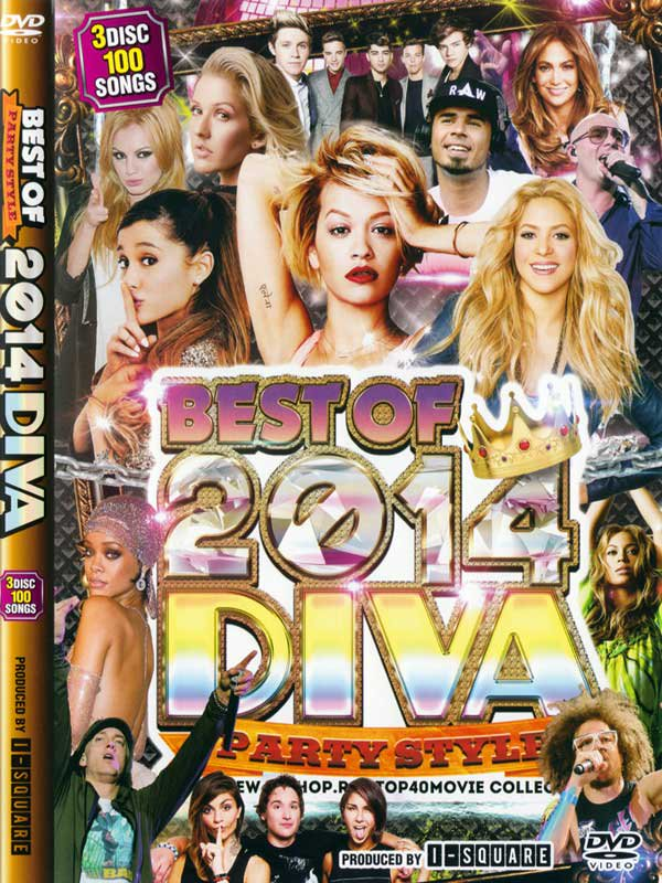 ��������Ǥ⤳�줬���֡��DIVA BEST OF 2014 -PARTY STYLE-(3 DVD)
