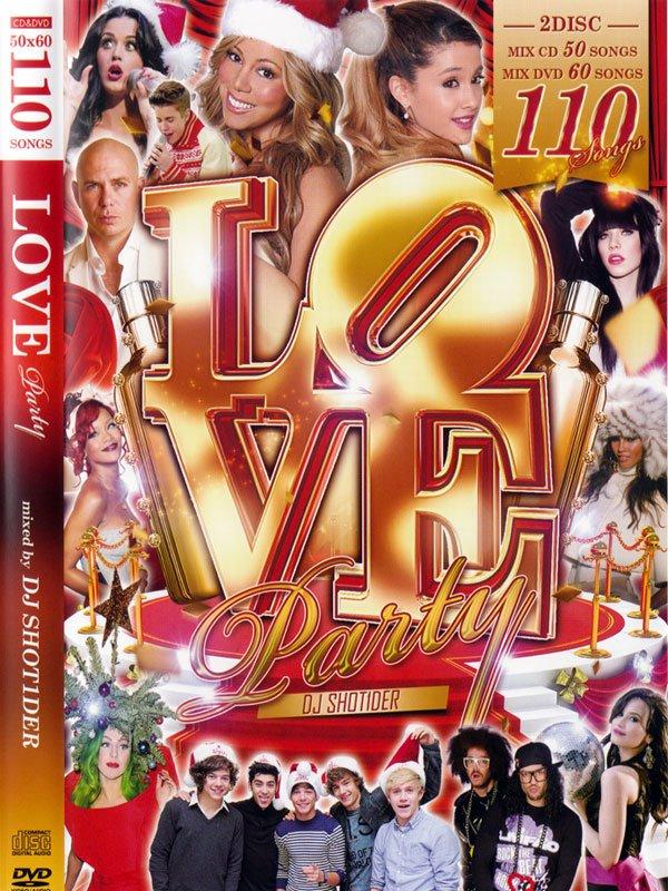 �˾�RB�����DJ SHOT1DER / LOVE PARTY (MIX DVD+MIXCD)