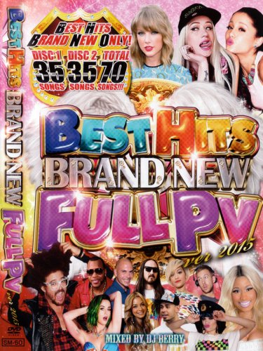 最新PVのみフルで70曲!!BEST HITS BRAND NEW FULL PV VER 2015 (2DVD)
