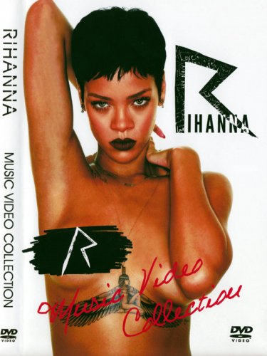リリベストDVD☆RIHANNA - MUSIC VIDEO COLLECTION (2 DVD)
