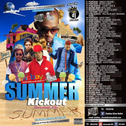 Silver Bullet Sound – Summa Kickout MIXCD s 20150907