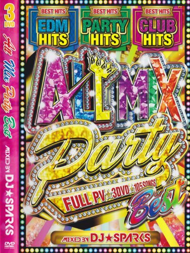 <img class='new_mark_img1' src='https://img.shop-pro.jp/img/new/icons1.gif' style='border:none;display:inline;margin:0px;padding:0px;width:auto;' />DJ★SPARKS / ALL MIX PARTY 3DVD