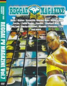 ★★REGGAE PV MAGAZINE(DVD)1,2,3,4,5,6,7SET★★