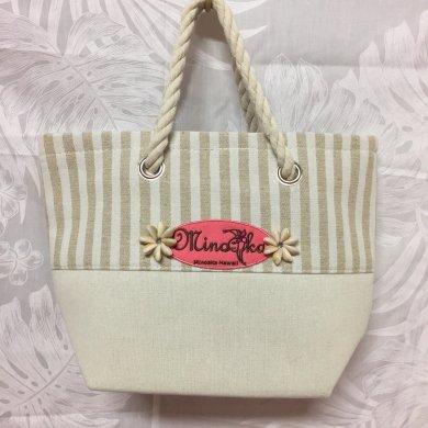 【Minoaka Hawaii】ロープハンドルトートバッグ