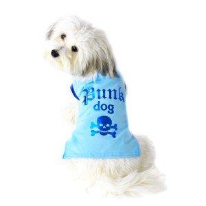 可愛いを体験♪特別価格商品【Punk Dog Blue Tシャツ】