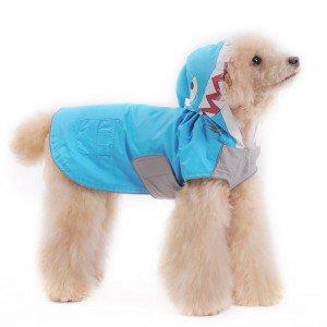 犬のレインコート【シャーク】