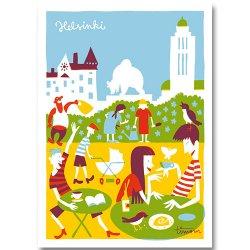 Kehvola Design / Timo Manttari [ Karhupuisto ] postcard