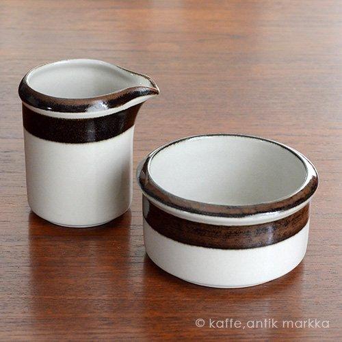<img class='new_mark_img1' src='https://img.shop-pro.jp/img/new/icons36.gif' style='border:none;display:inline;margin:0px;padding:0px;width:auto;' />ARABIA / Anja Jaatinen Winqvist [ Karelia  ] creamer & sugar bowl