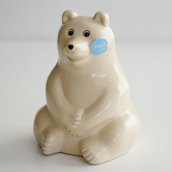 <img class='new_mark_img1' src='https://img.shop-pro.jp/img/new/icons25.gif' style='border:none;display:inline;margin:0px;padding:0px;width:auto;' />MK Tresmer - Polar Bear Money Box(シロクマ 貯金箱)