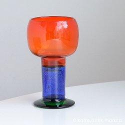 Nuutajarvi / Kaj Franck - Goblet / Art Glass
