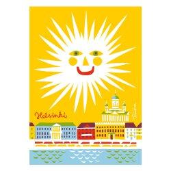 Kehvola Design / Timo Manttari [ Hello Helsinki ] postcard