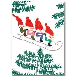 Kehvola Design / Marika Maijala [ Sledge ] postcard
