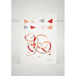 Camille Romano [ Confetti ] postcard