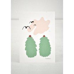 Camille Romano [ Spruce ] postcard