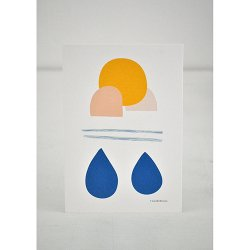 Camille Romano [ Drops ] postcard