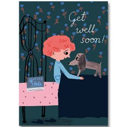 Kehvola Design / Marika Maijala [ Get Well Soon! ] postcard