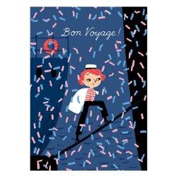 Kehvola Design / Marika Maijala [ Bon Voyage! ] postcard