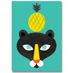 POLKKA JAM [ Ananas ] postcard