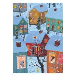 Kehvola Design / Matti Pikkujamsa [ Jouluaamu ] postcard