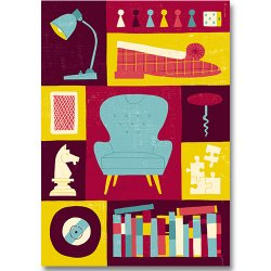 Kehvola Design / Timo Manttari [ Nojatuoli ] postcard