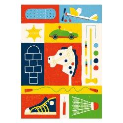 Kehvola Design / Timo Manttari [ Keppihevonen ] postcard